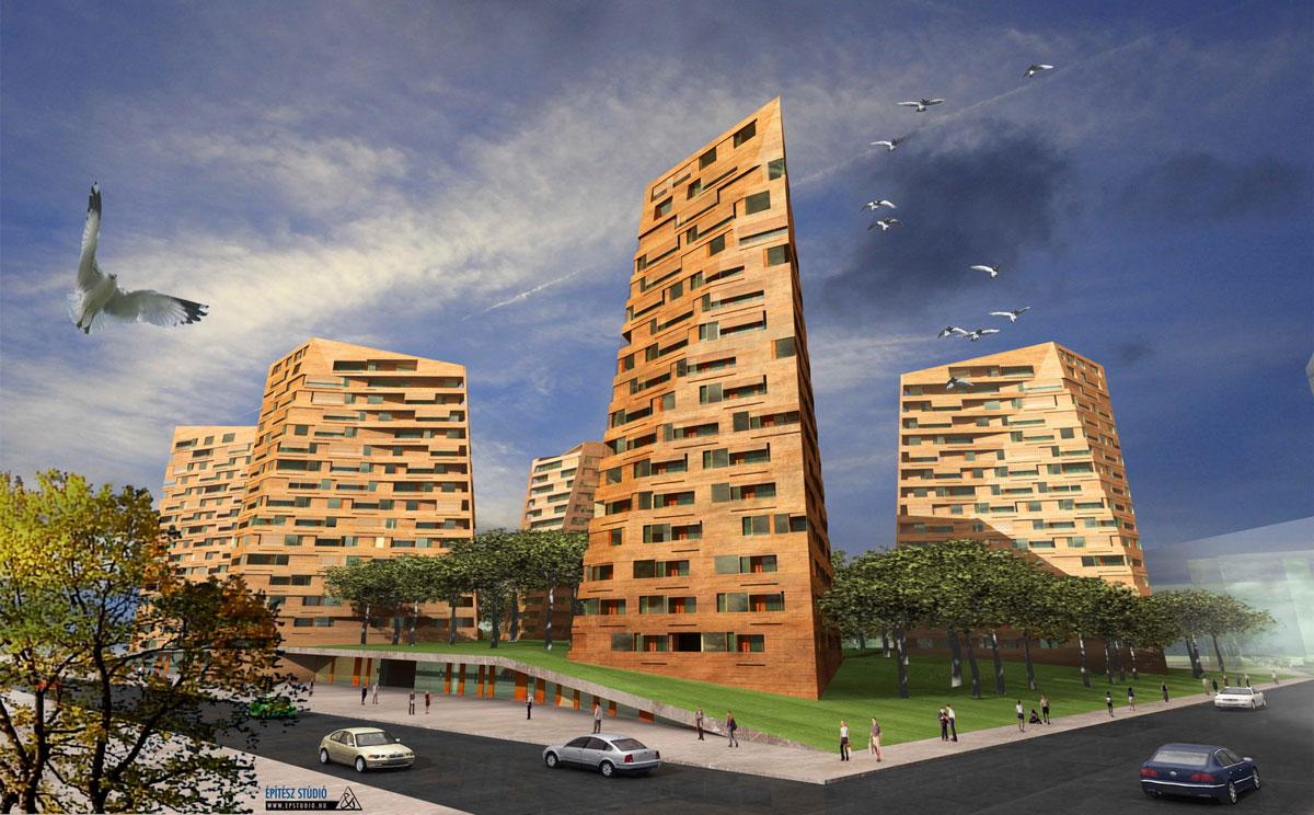 Housing Red Rocks / Építész Stúdió