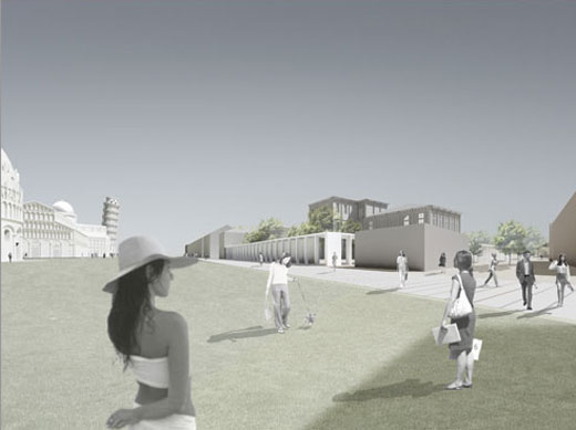 "The Competition ""Urban Redevelopment of  University Hospital of Santa Chiara"" Won by David Chipperfield Architects"