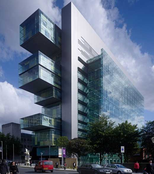 Manchester Civil Justice Centre in England won RAIA Award