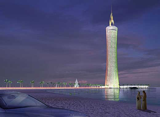 The Burj Al-Taqa Energy Tower (Zero Emission)