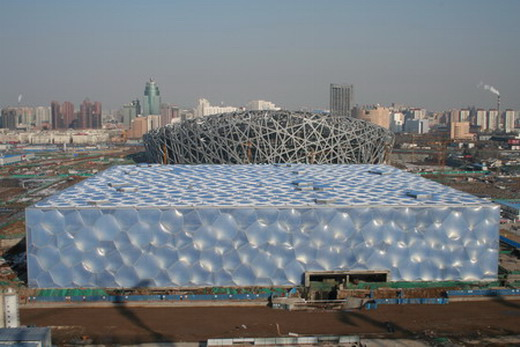The Beijing National Aquatic Centre