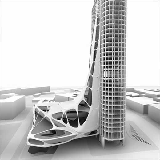 Urban Lobby by architects MRGD