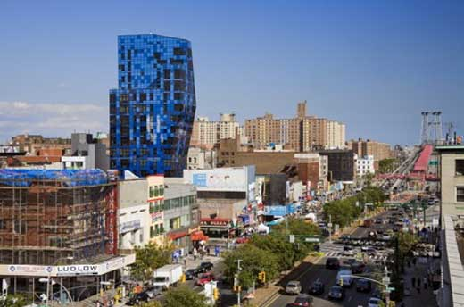 Blue Residential Tower Opened in New York