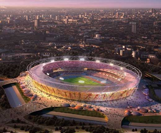 London 2012 Olympic Stadium  by HOK Sport