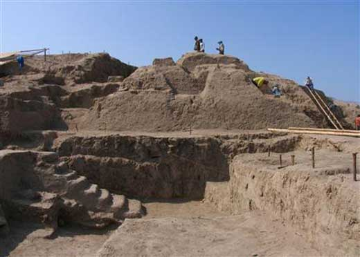 Temple Discovered in Peru