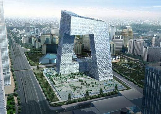 Unique Structure #3: CCTV Headquarters, China