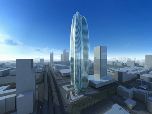 Zaha Hadid's Lilium Tower in Poland
