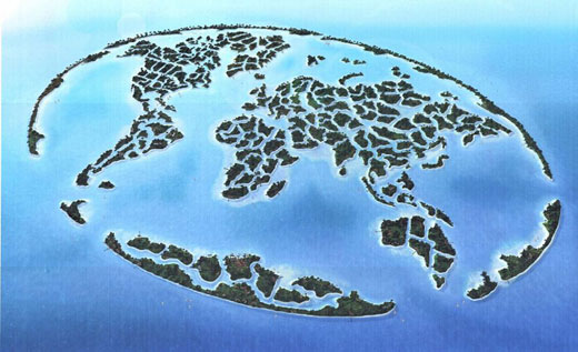 dubai world islands. The World Islands