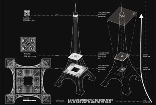 Redesigning the Eiffel Tower