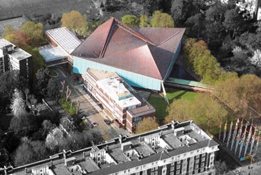 Commonwealth Institute in Kensington and Chelsea, London,