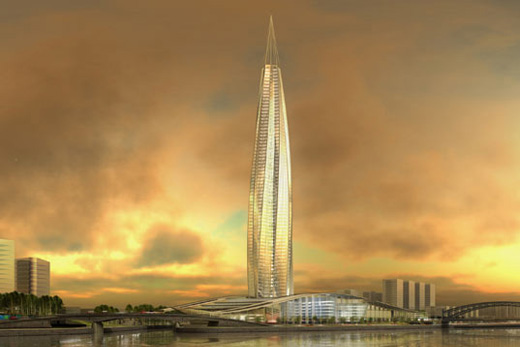 Okhta Tower by RMJM