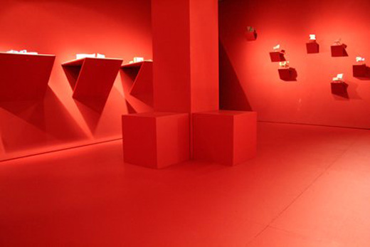 Room Red red roomgerman student | : architecture list