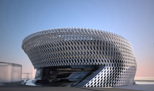 Civil Court for Madrid from Zaha Hadid