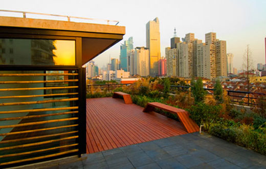 Urbn Hotel in Shanghai is Green
