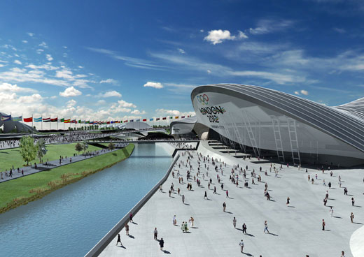 Aquatic Centre for 2012 Olympics in London