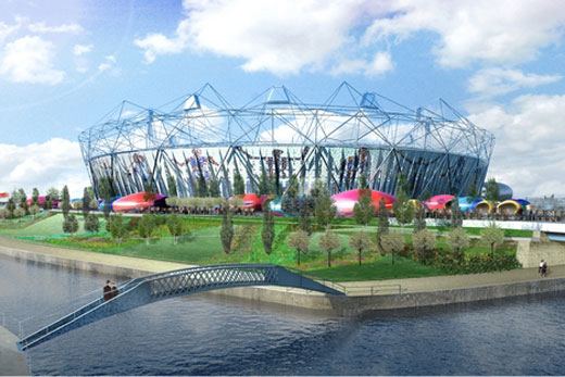 The Newest Designs for The London 2012 Olympic Stadium