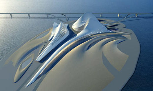 Dubai Opera House and Cultural Centre Designed by Zaha Hadid