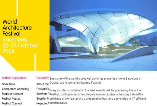 world architecture festival barcelona