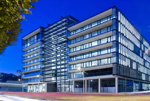 The new office development at Boulogne Billancourt