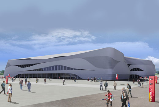 2014 Winter Olympic venue