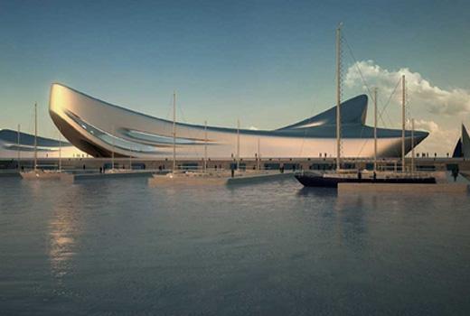 Regium Waterfront italy zaha hadid