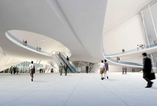 Cairo Expo City by Zaha Hadid