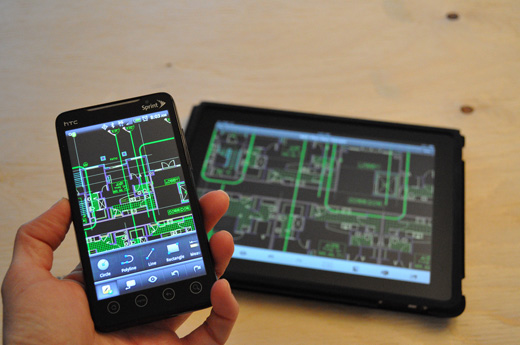 AutoCAD WS Mobile for Android