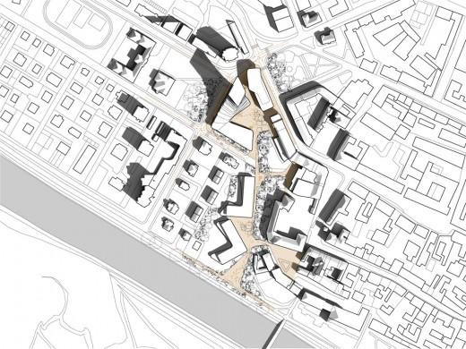 Herman's Square in Celje, Slovenia / by Arhimetrics + Enota