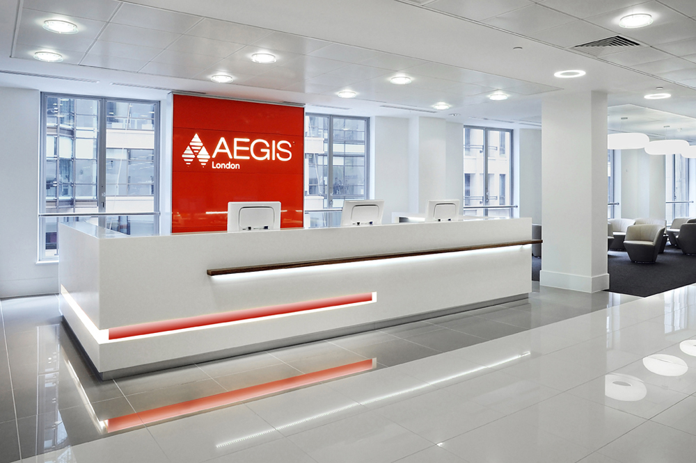 Office Interior of Aegis London by Mansfield Monk