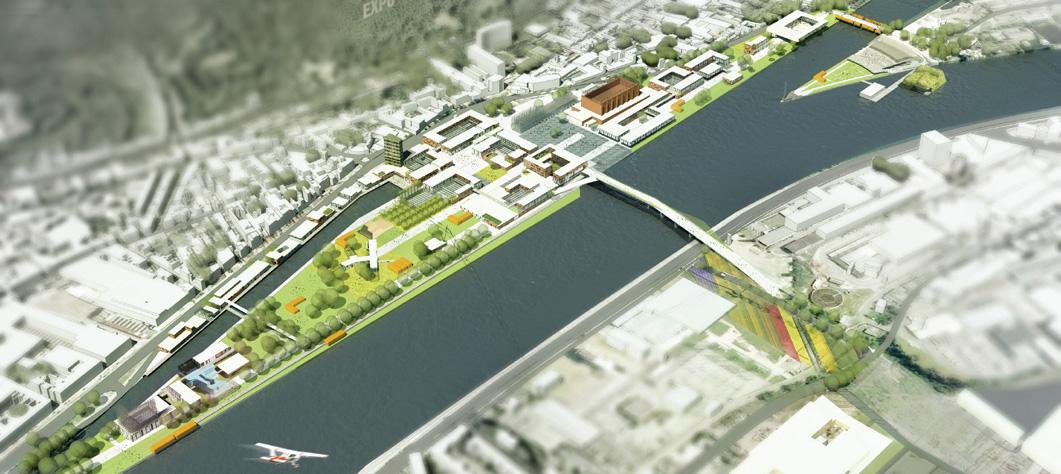 Master Plan for Liège EXPO 2017 / by VenhoevenCS