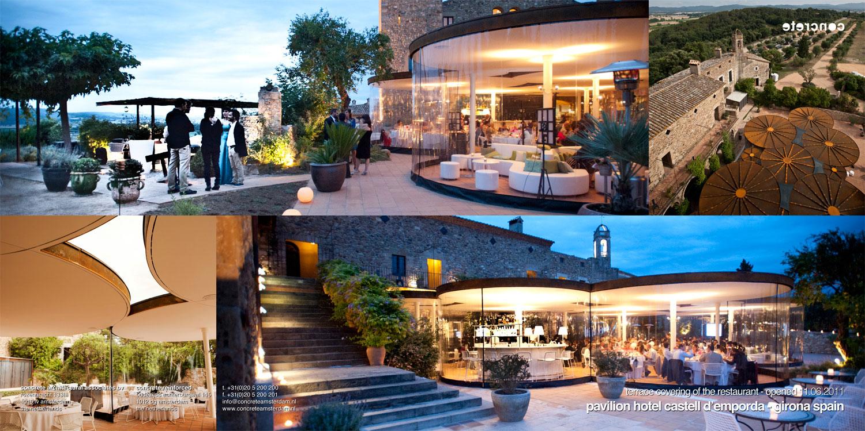 Pavilion For Castell D'emporda