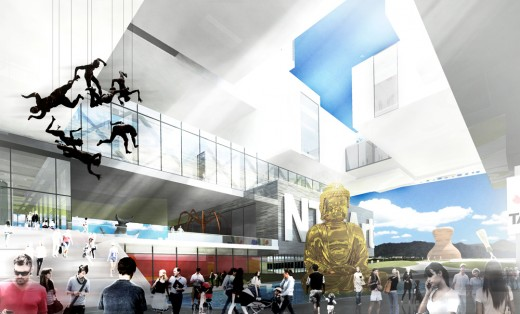 New Taipei City Museum of Art / by ZERAFA ARCHITECTURE STUDIO