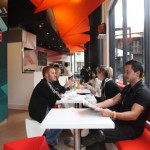 Fractal Café at Boston University Building in Sydney / by Tony Owen