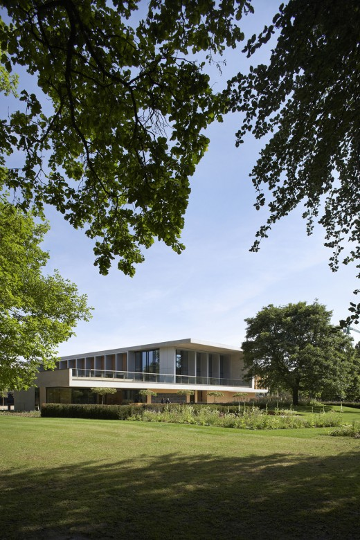 Sainsbury Laboratory, United Kingdom, designed by Stanton Williams