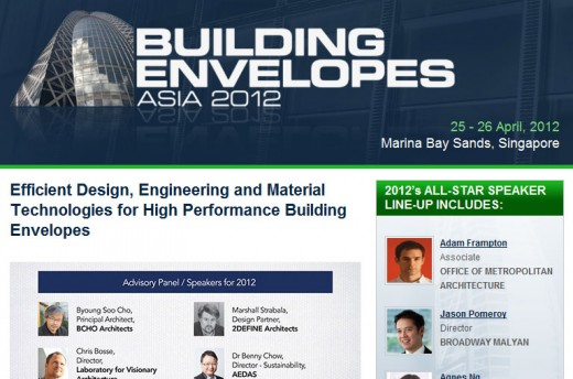 Building Envelopes Asia 2012