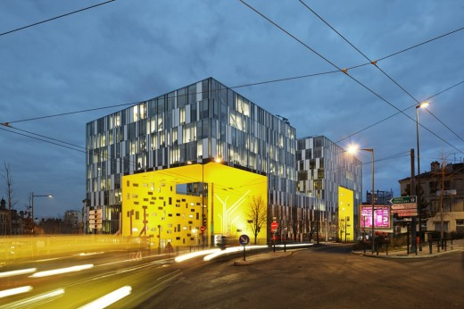 LA CITE DES AFFAIRES IN SAINT-ETIENNE / by Manuelle Gautrand Architecture