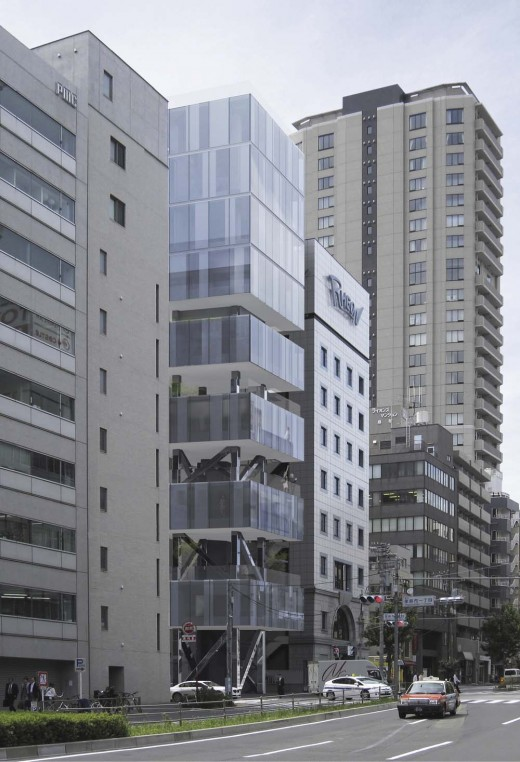 HA Tower in Tokyo / by Frontoffice + Francois Blanciak