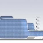 DI-Dalian Medical University Hospital 12-West Elevation
