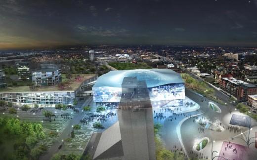 Masterplan of Downtown Lexington, Kentucky / by  JDS and  Diana Balmori