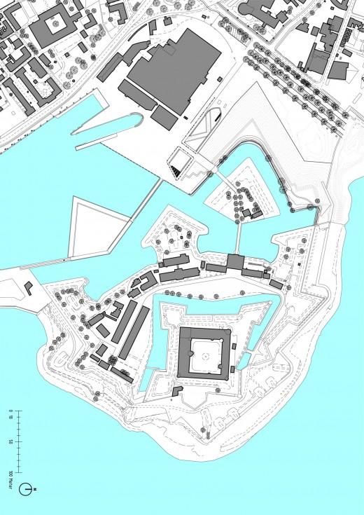 U:711_SØFARTSMUSEET7_Tegninger7-03_Arkitekt7-03-24_Pres