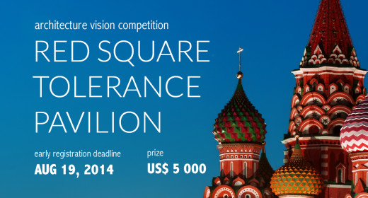 architecture vision competition RED SQUARE TOLERANCE PAVILION