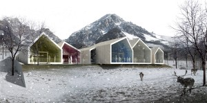 New Kindergarten and Nursery School. San Vito di Cadore / ATENASTUDIO+ ALESSANDRO SACCHET+ KREJ ENGINEERING