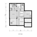 House at Shimogamo Yakocho by Edward Suzuki - plan b1f