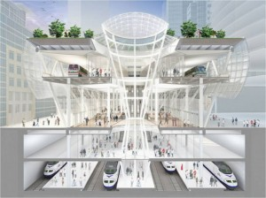 Transbay Transit Center Project  in San Francisco