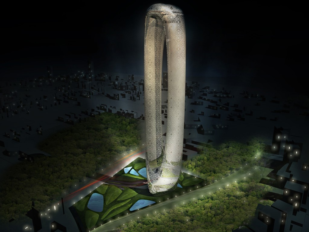 TAIWAN TOWER CONCEPTUAL DESIGN / Paolo Cucchi Architects