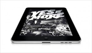 BIG's Yes is More eBook on iPad