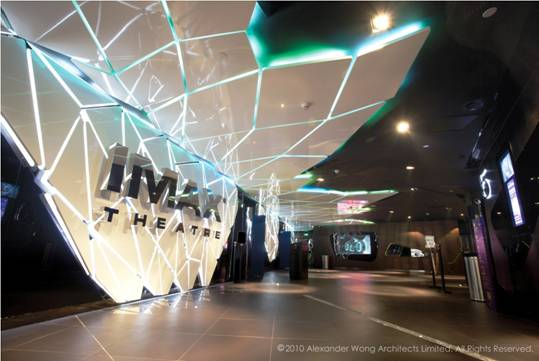Futuristic Eden at UA Shenzhen Cinema by Alexander Wong Architects