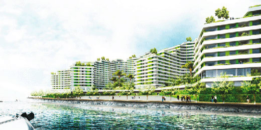 Punggol Waterfront Housing