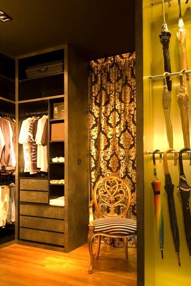 gold white closet merlot condominium singapore by knq associates architecture list