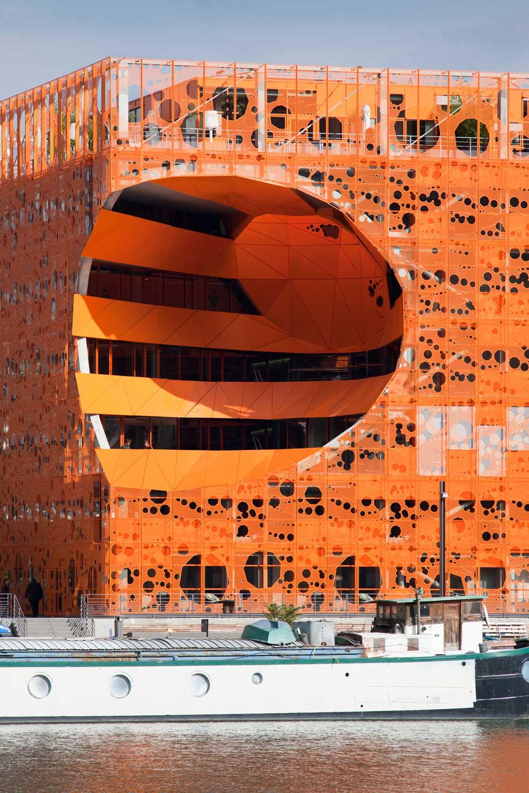The Orange Cube, Lyon / by JAKOB + MACFARLANE ARCHITECTS